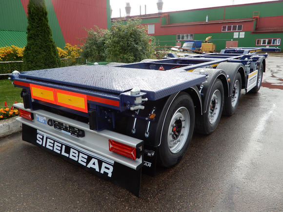 'STEELBEAR'   Поставил контейнер и вези!